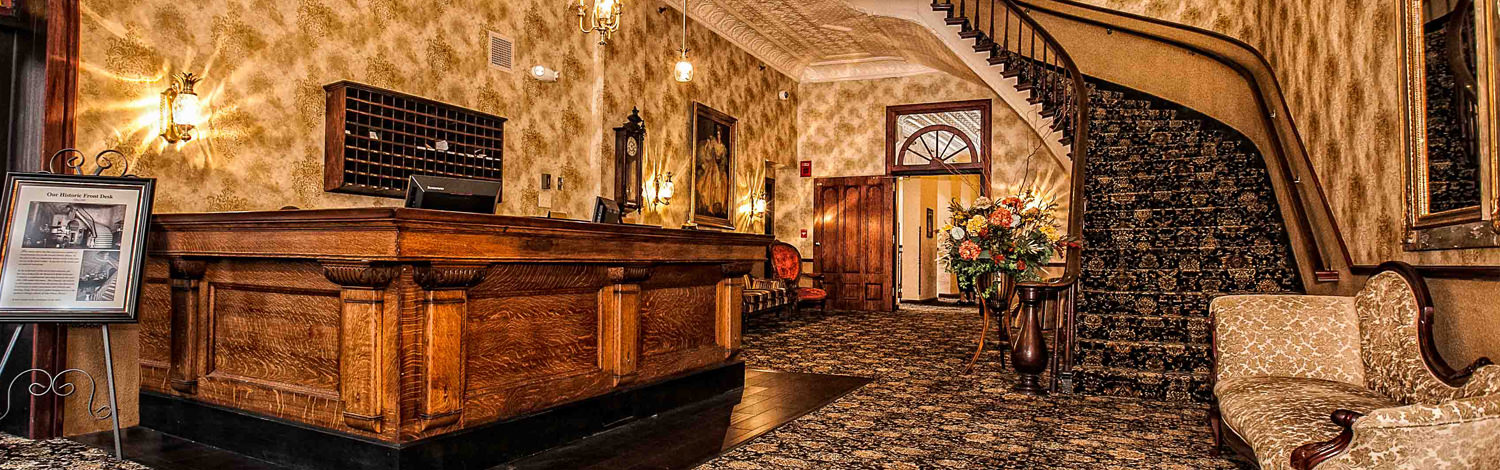 The Desoto House Hotel Downtown Galena Illinois