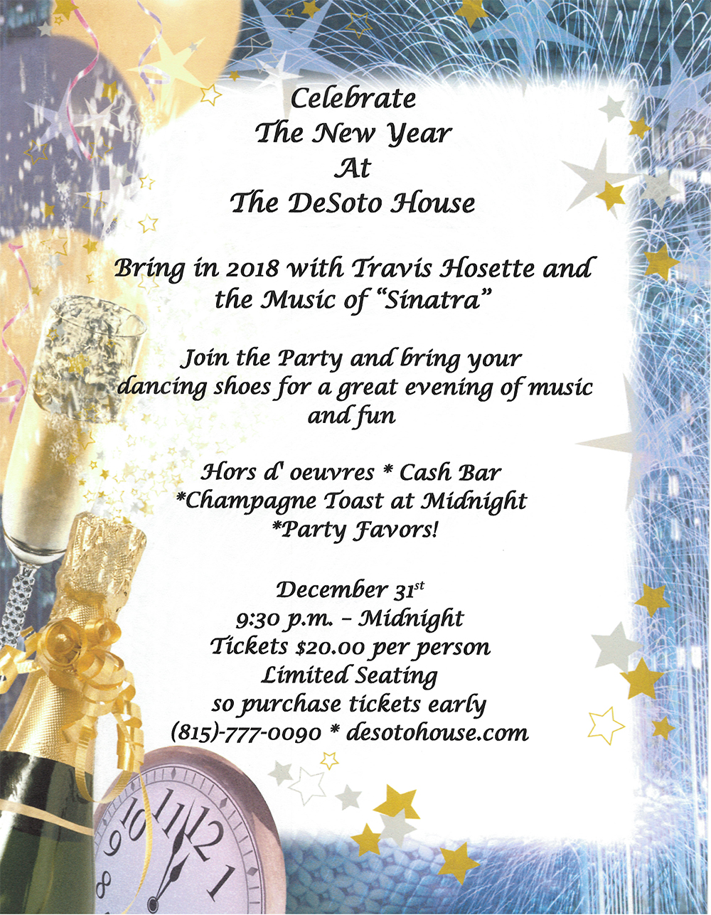 New-Year\'s-Eve » The Desoto House Hotel